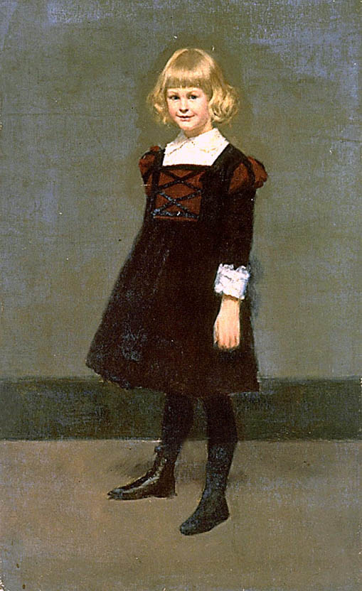 Untitled, Portrait of a Young Girl