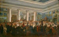 Vente publique de tableaux