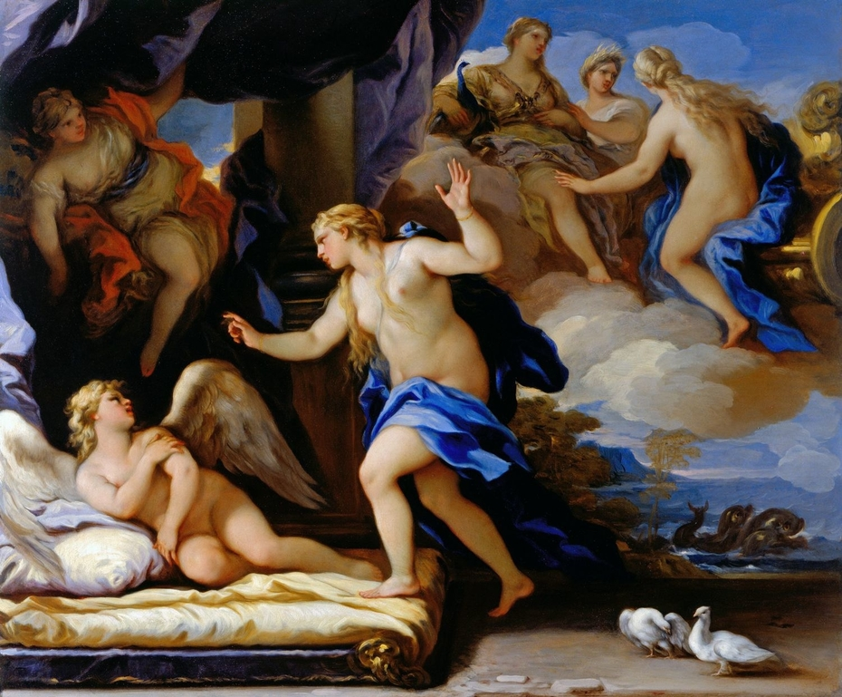 Venus Chides Cupid