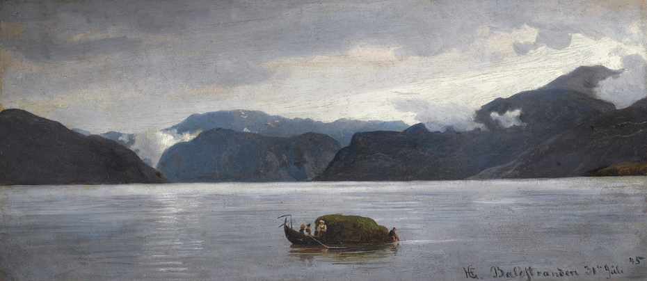 View from Balestrand