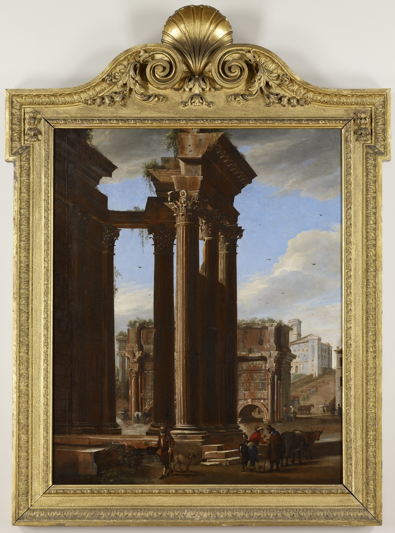 View in the Roman Forum