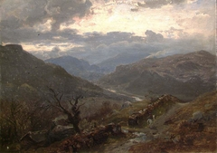 View of Mountains in Wales