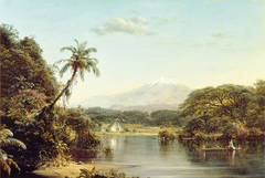 View on the Magdalena River