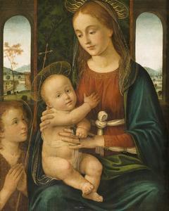 Virgin and Child with Saint John the Baptist