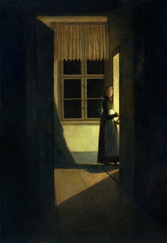 Woman with the Candlestick