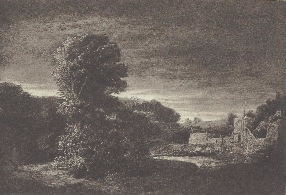 Wooded Landscape with a Ruin