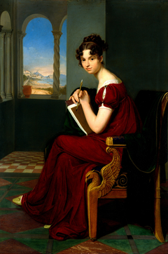 Young Lady with Drawing Utensils