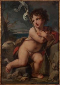 Young Saint John the Baptist with Agnus Dei
