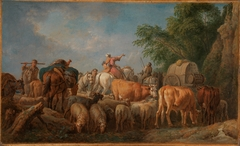 A cattle transport