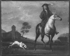 A Young Gentleman on Horseback