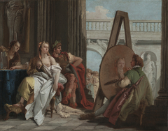 Alexander the Great and Campaspe in the Studio of Apelles