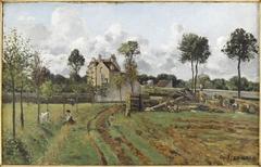 Allée de la Tour-du-Jongleur and the House of M. Musy, Louveciennes