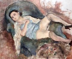 Andrée (femme se reposant)