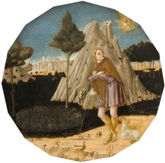 Angel Appearing to Joachim