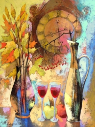 Autumn evening for two