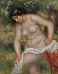 Bather Drying Herself (Baigneuse s'essuyant)