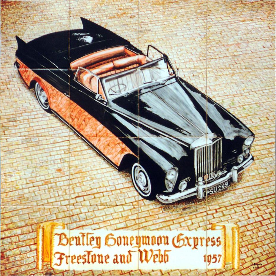 Bentley Honeymoon Express Freestone and Webb 1957