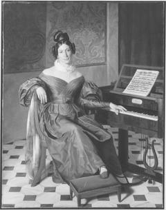 Bildnis der Isabella Colbran (zugeschrieben)