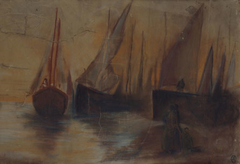 Boats in the Sunset
