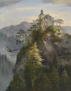 Castle Ruin on a Rock
