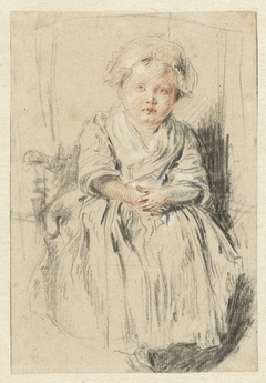 Child Seated in a Chair