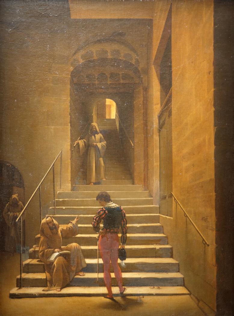 Convent Interior in Rome