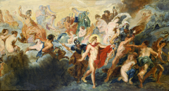 "Copy after the Painting by Rubens ""The Council of Gods"""