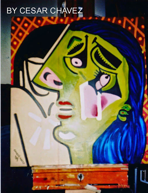 Crying Woman /After Pablo Picasso.