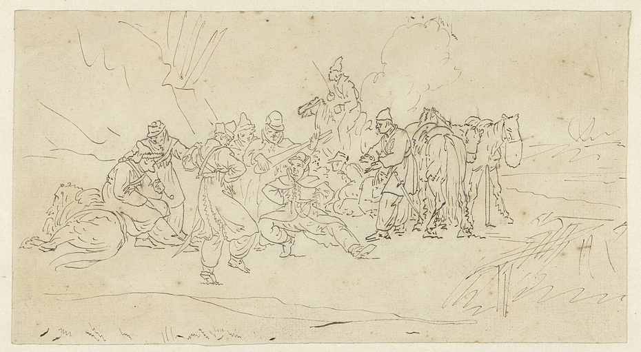 Dansende kozakken