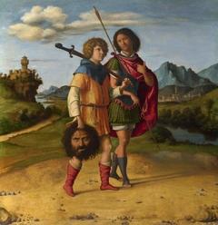 David and Jonathan (?)