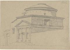 De kerk Sant'Andrea in Via Flaminia, Rome