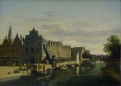 De Waag (Weighing House) and Crane on the Spaarne, Haarlem