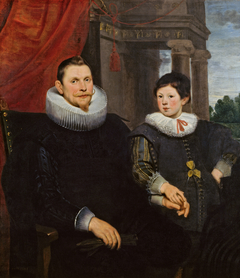 Double Portrait of a Father and Son