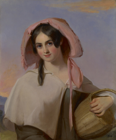 Elizabeth Cook (Mrs. Benjamin Franklin Bache) as The CountryGirl