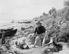 Familieliv i et lille fiskerleje nord for Helsingør