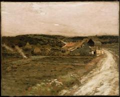 Farm Beside an Old Road