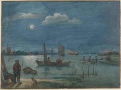 Fishermen by Moonlight