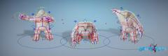 Frosc The Yeti – Rigging and Animation Atlanta, USA