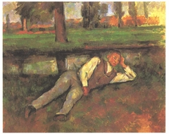 Garçon couché (Boy by the Brook)