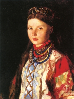 Girl in Russian Costume