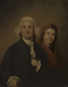 Governor Jonathan Trumbull, Sr. (1710-1785), LL.D. 1779 and Mrs. Trumbull (Faith Robinson) (1718-1780)