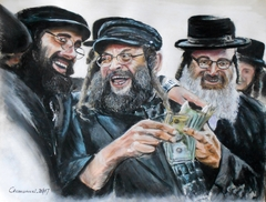 Hasidic on Lelow - Happy people