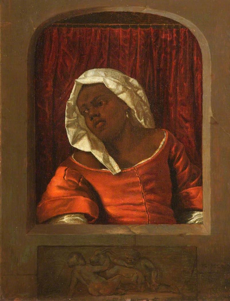 Head of a Black Woman