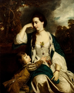 Henrietta Catherine Cholmley and Son