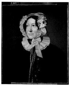 Henriëtta Lucretia Engelen (1780-1852). Echtgenote van Conrad Ludwig Bruning
