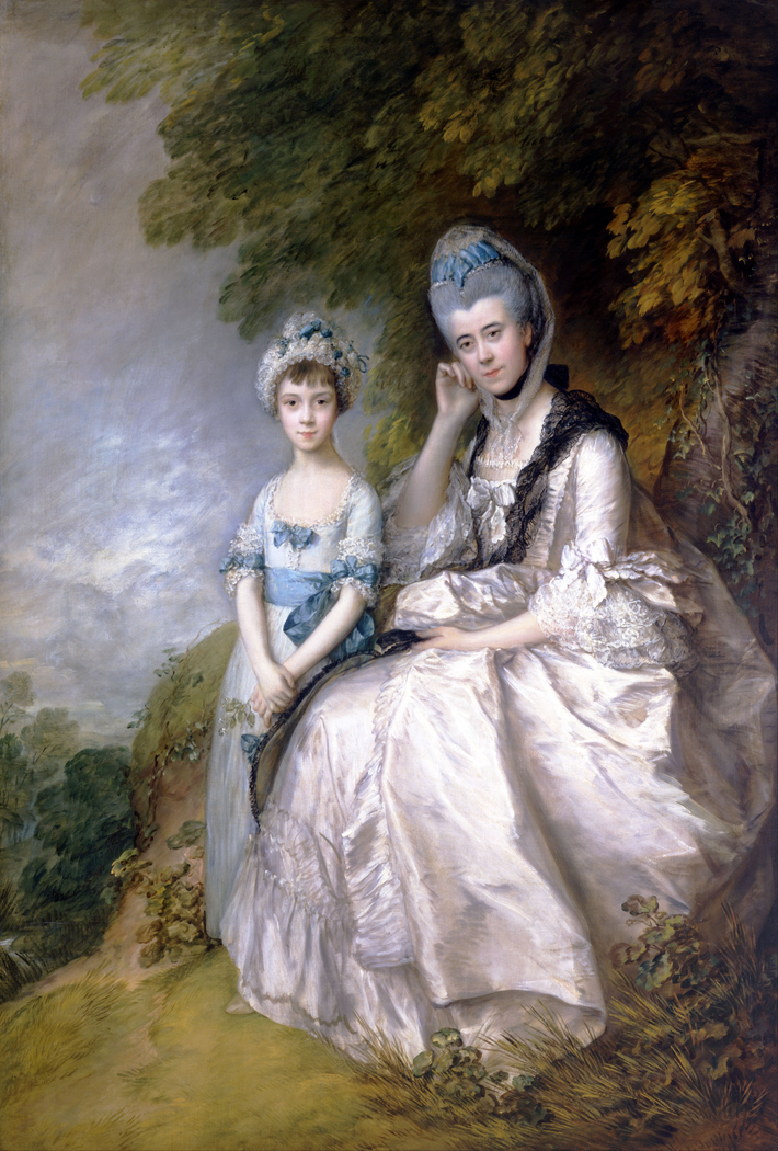 Hester, Countess of Sussex, and Her Daughter, Lady Barbara Yelverton
