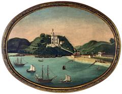 Igreja e praia da Glória