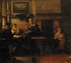 Interior of a Tailor's Shop