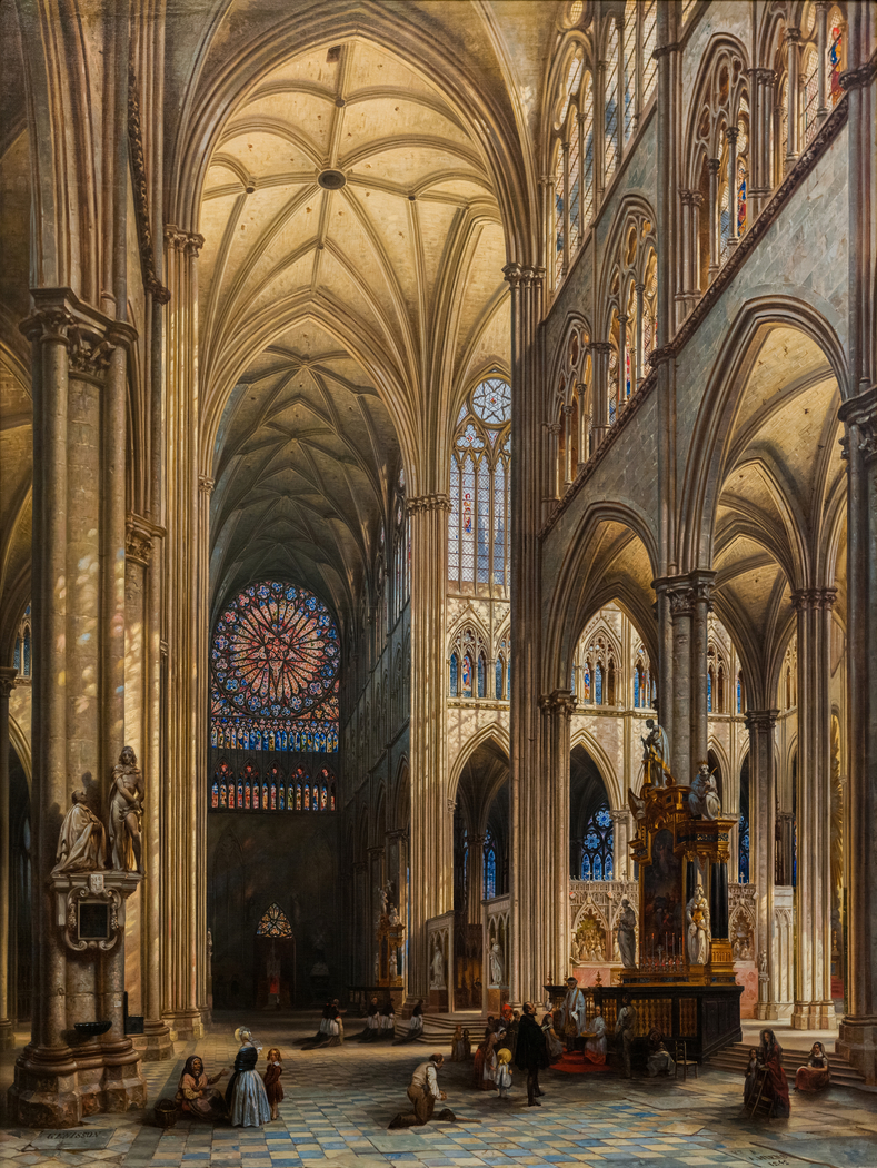 Interior of the Cathedral of Amiens
