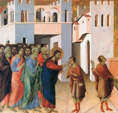 Jesus opens the Eyes of a Man born Blind